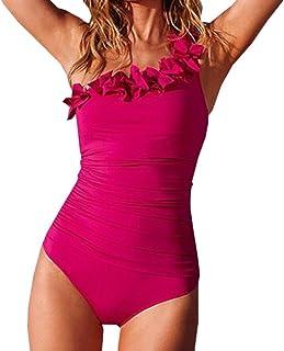 35a383d85d32e Amazon.com  One Shoulder - One-Pieces   Swimsuits   Cover Ups ...