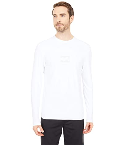 Billabong All Day Wave Loose Fit L/S Surf Tee (White 1) Men