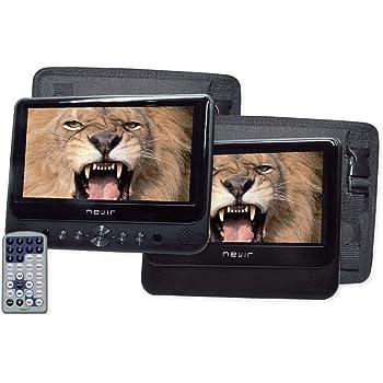 WONNIE 2 Reproductor de DVD Portátil para Coche, con 10.5
