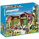 Playmobil 5119 Country Farm Barn with Silo