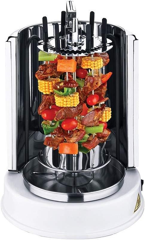 Wonderper Vertical Rotisserie Oven Electric Grill Countertop Oven Shawarma Machine Rotisserie Grill