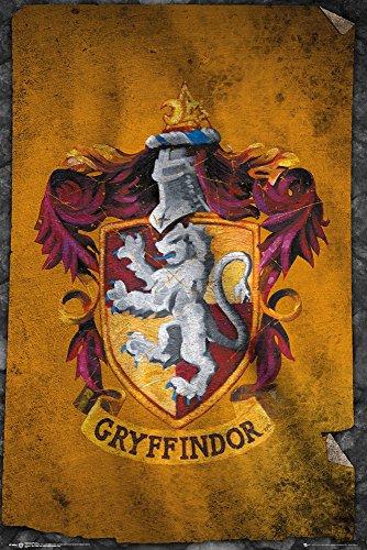 GB Eye Ltd, Harry Potter, Gryffindor Flag, Maxi Poster, 61 x 91,5 cm
