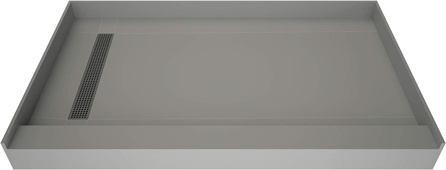 SEAL limited product Tile Redi T3642L-SCDNBVZ Shower Pan Flashing Drai Kit with Max 40% OFF Left