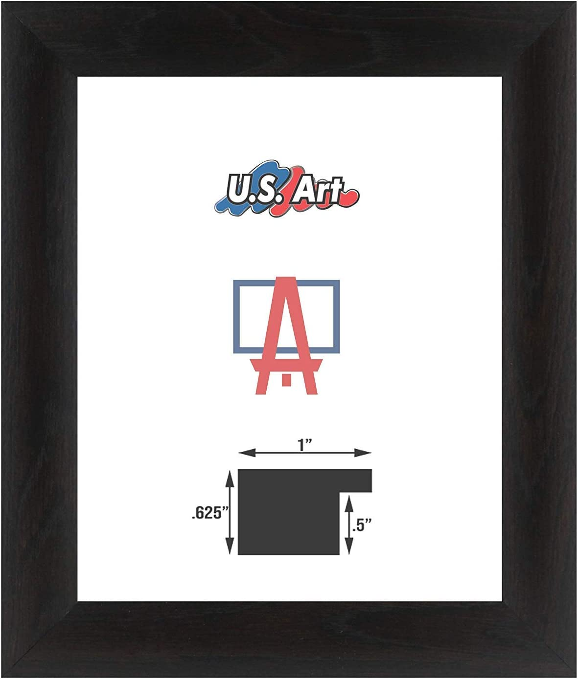 US Art Frames 16x20-Inch Max 65% OFF Wall Picture Frame Max 56% OFF Decor Smooth Poster