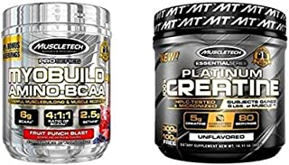 Muscletech Myobuild & Platinum Creatine Bundle
