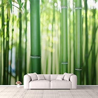 Modern 3D PVC Design Removable Wallpaper for Bedroom Living Room Bamboo Wallpaper Stick and Peel Wall Stickers Home Decor...