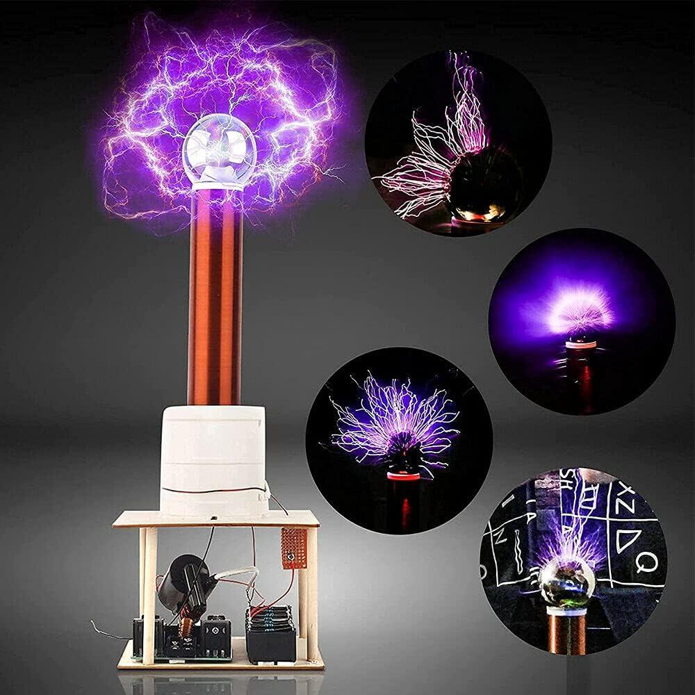 WELLVEUS Tesla Coil Suit Arc Electricity Test Super sale period limited Manufacturer OFFicial shop Plasma Tr Wireless