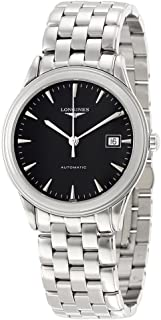 Longines Flagship Automatic Black Dial Stainless Steel Watch L48744526