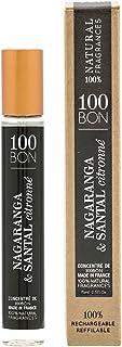 100 BON concentrate eau de parfum sprnagaranga &santal citro unisex, 0.5 Fl Oz