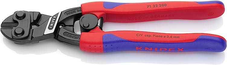Knipex Kni7132200 Oluklu Yaylı Mafsallı Keski, Kırmızı, 5,2 Mm, 1 Adet