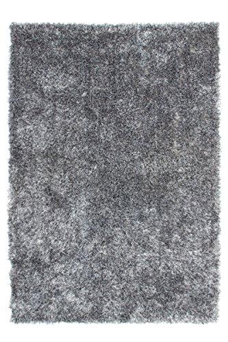 Kayoom Teppich Crystal 350 grau 80 x 150 cm