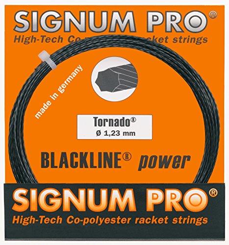 Signum Tennissaite Pro Tornado 12m, schwarz, 1,29, KR1007581,29