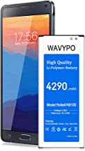 (Upgraded) Galaxy Note 4 Battery 4290 mAh, Wavypo Replacement Battery for Samsung Galaxy..