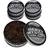 Smokey Mountain Herbal Snuff - Classic - 5 Cans - Nicotine-Free and Tobacco-Free