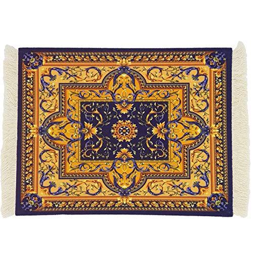 DESIGNMANUFAKTUR Teppich Mauspad Perser Mousepad orientalischer Teppich als Mousepad Mausunterlage - lustiges Büro Zubehör - Motiv 11