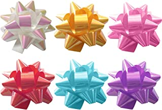 TOYMYTOY Wrap Pull Bows,2-inch Gift Bows Wrapping Gift Box Decoration,70Pcs