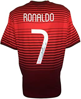 Cristiano Ronaldo Autographed Signed 2014 Nike Portugal National Team Soccer Jersey Icons - Certified Authentic