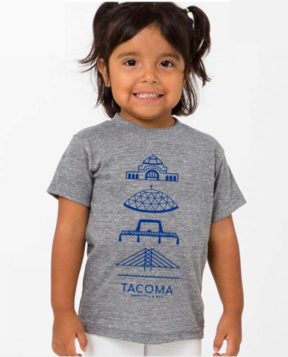Tacoma Union Station unisex tri blend t-shirt Ta Same day shipping kids and - Popular products baby