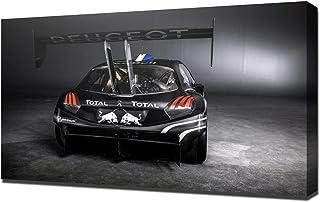 Lilarama 2013-Peugeot-208-T16-Pikes-Peak-V2-1080 - Lienzo Impreso, diseño giclée