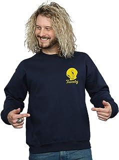 Looney Tunes Men's Tweety Pie Head Sweatshirt