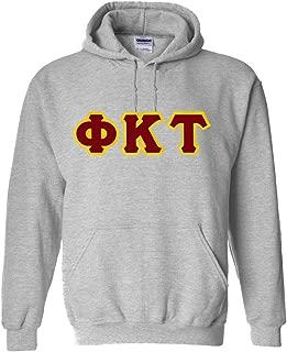 Phi Kappa Tau Lettered Hooded Sweatshirt