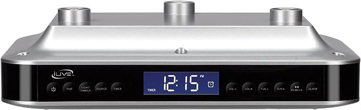 Ilive Electronic Under-cabinet Bluetooth Digital Radio