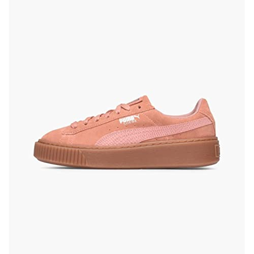 Puma Damen Suede Platform Animal Sneaker beige 3e004bdb97