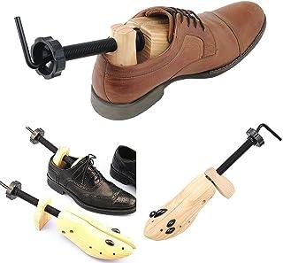 Jinxuny 1pc Écarteur de Chaussures pour Femme et Homme 2 Voies réglable Unisexe (L(EU 42-46))
