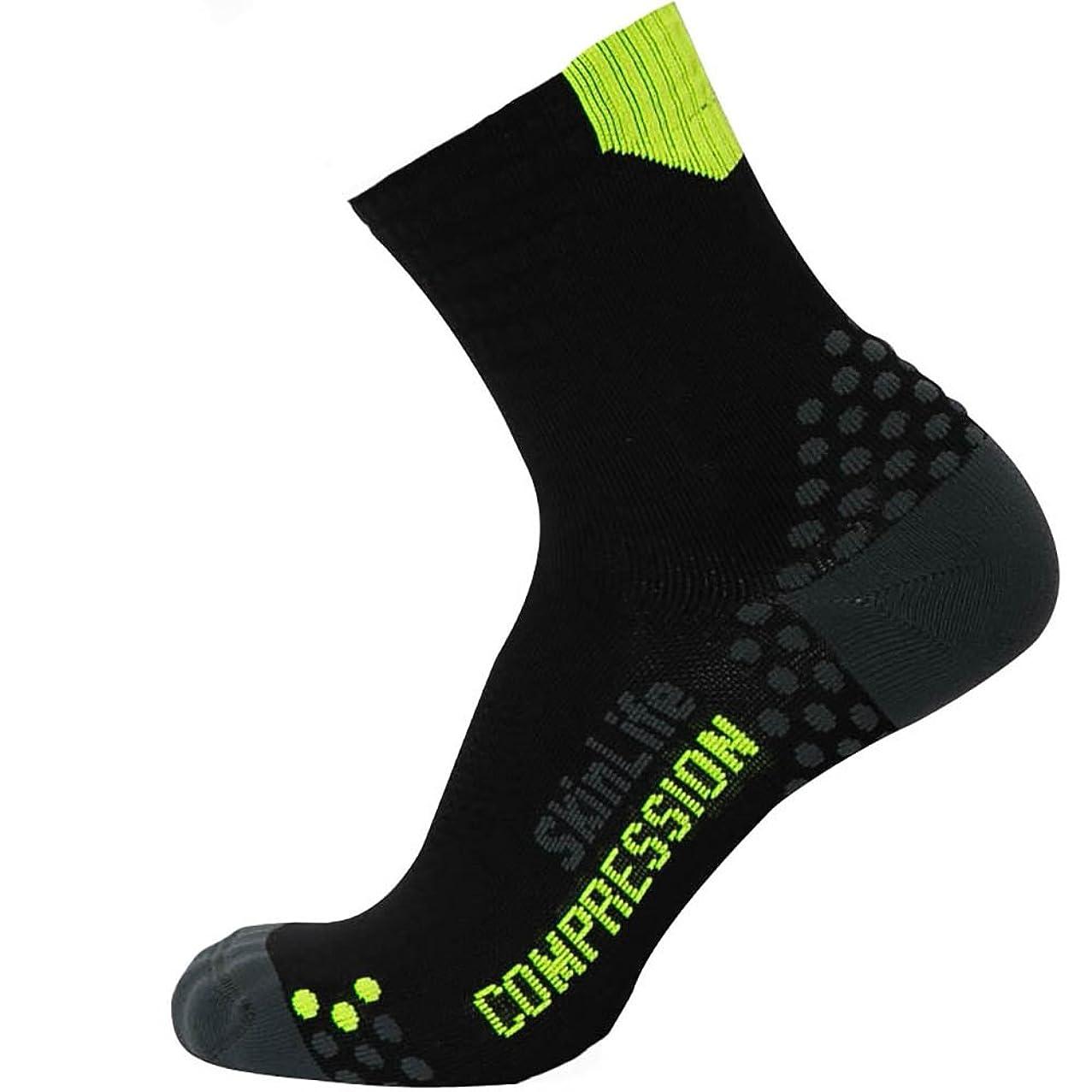Pure Athlete Running Socks – Anti-Blister Quarter Length Sport Socks – Dot Padding Technology