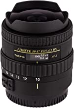 Tokina ATXAF107DXC 10-17mm f/3.5-4.5 AF DX Fisheye Lens for Canon, Black