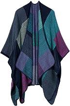 SLM-max sjaal vrouwen, Dames Herfst Winter Sjaal Cloak Fashion Kwastje Cape Mantle Sjaal Warm Zachte Kerchief Wrap Sjaal (...