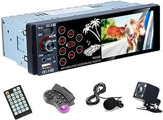"Hodozzy 1DIN Car Audio Bluetooth 3.8"" Touch Screen HD 1080P Car Radio FM Receiver Single Din Head Unit USB,Type-C, AUX Inp... photo"