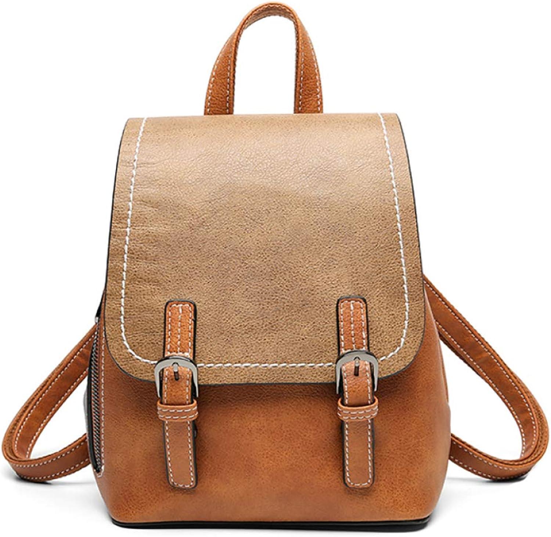 b1f53ba84 Backpack for Women Girls Ladies Leather Backpack Shoulder Bag Rucksack  Travel Bag Backpack for for School, Lightweight Campus Backpack Waterproof  Girls ...