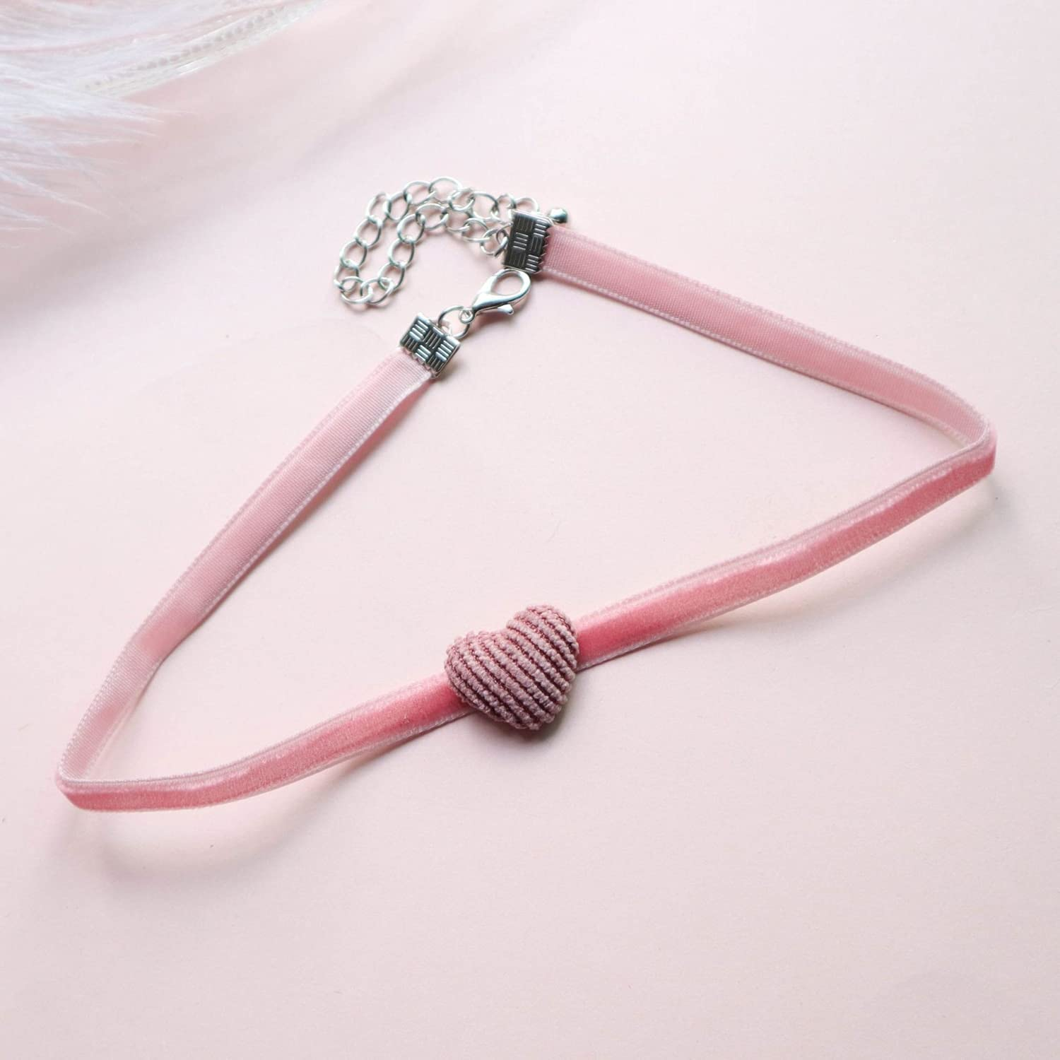 xunyang Japan and Korea Multi-Style Lace Short Clavicle Chain Collar Necklace for Woman Fashion Jewelry (Metal Color : 16)