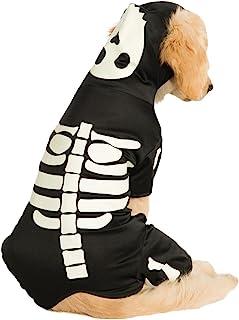 Rubie's Pet Costume, Large, Glow in The Dark Skeleton Hoodie