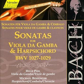 Bach, J.S.: Sonatas for Viola Da Gambe and Harpsichord, Bwv 1027-1029