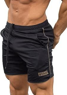 Kstare Men's Summer Shorts Sports Classic Fit Athletic Training Bodybuilding Workout Short Pants