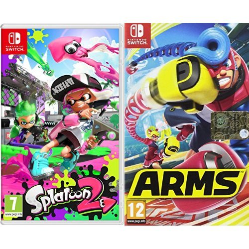 Splatoon 2 + Arms - Nintendo Switch
