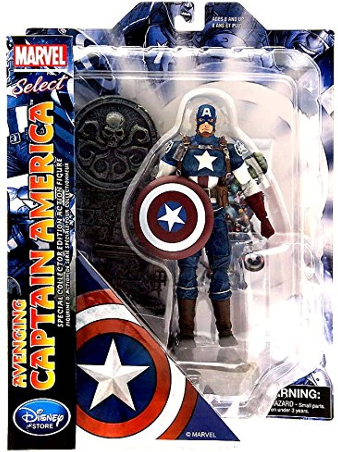 Marvel Select Avenging Captain America 7 Action Figure