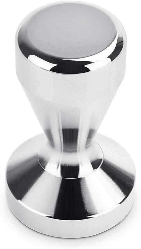GOEGE 57mm Stainless Steel Coffee Bean Espresso Tamper Coffee Bean Press