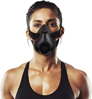 Yafeh Sports Workout Mask - Adjustable Oxygen Control Facemask - High Altitude for Breathing Resistance Training - Increase Stamina - Long Lasting Running, Jogging, Biking, and Fitness Exercises