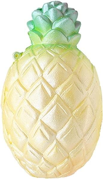 4 7 慢上升卡哇伊香味软巨型菠萝玩具儿童和成人或减压菠萝