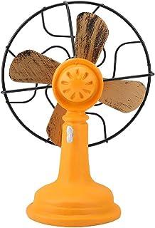 FTVOGUE - Figura de Ventilador eléctrico de Resina en Miniatura, diseño Vintage Europeo