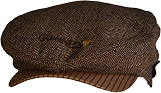 Brown Tweed Flat Cap - Medium