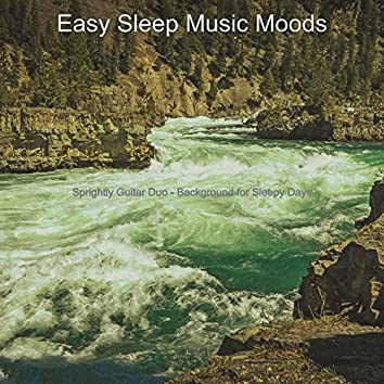 Sprightly Guitar Duo - Background for Sleepy Days