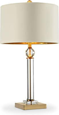 "OK Lighting AZOK5161T 29.5"" H Perspicio Table Lamp, Brass"