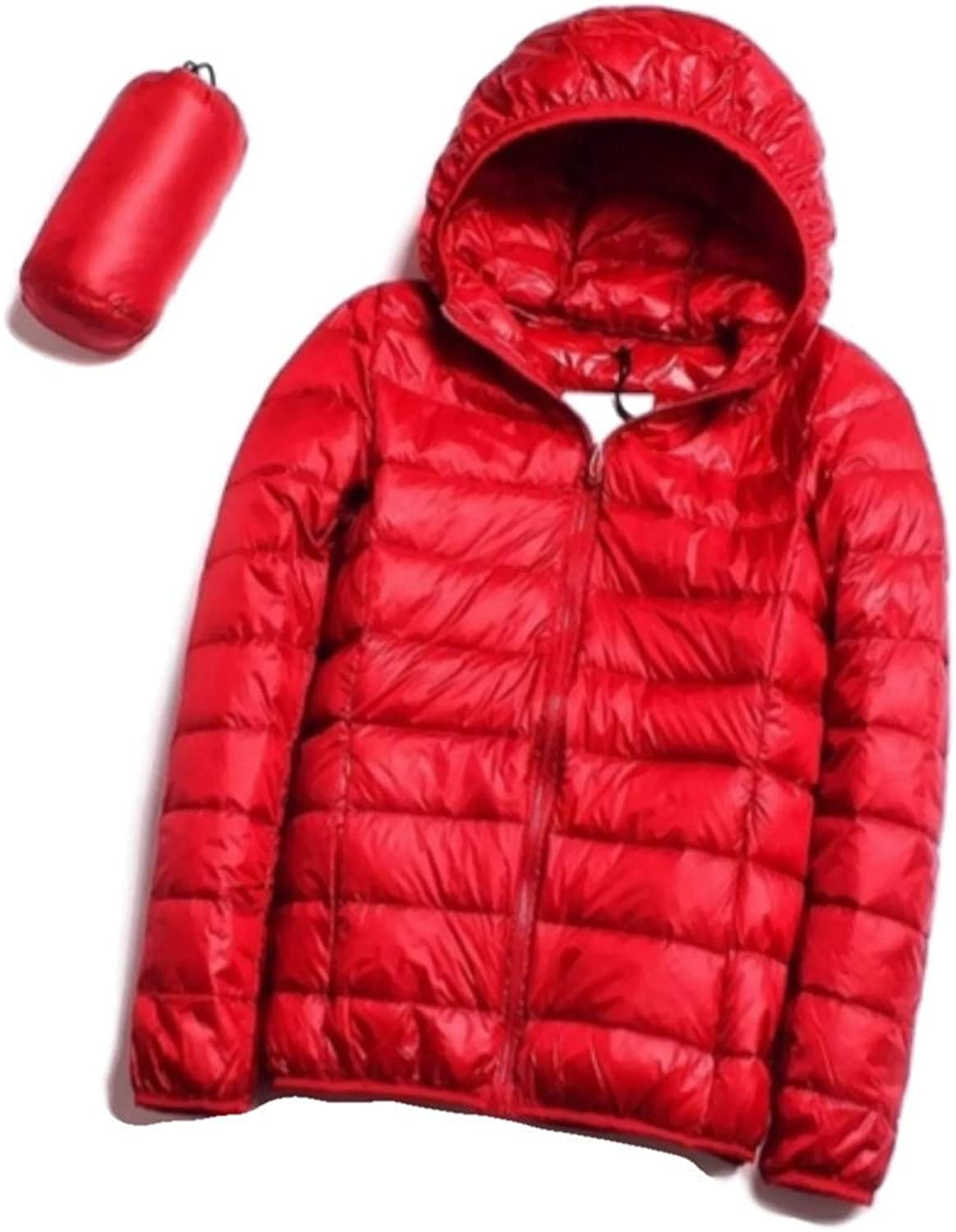 Quality Casual Ultra Light Max 70% OFF White Duck Down Raleigh Mall W Jacket Women Autumn