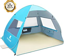 SGODDE Large Pop Up Beach Tent 2019 New Anti UV Sun Shelter Tents Portable Automatic Baby..