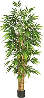 Nearly Natural 5257 Belly Bamboo Silk Tree, 6-Feet, Green