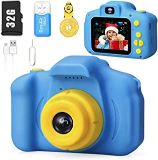 Desuccus Kids Camera HD 1080p Video Selfie Digital Camera for Kids Best Birthday Gift for 3-8 Years Old Boys and Girls Tod...